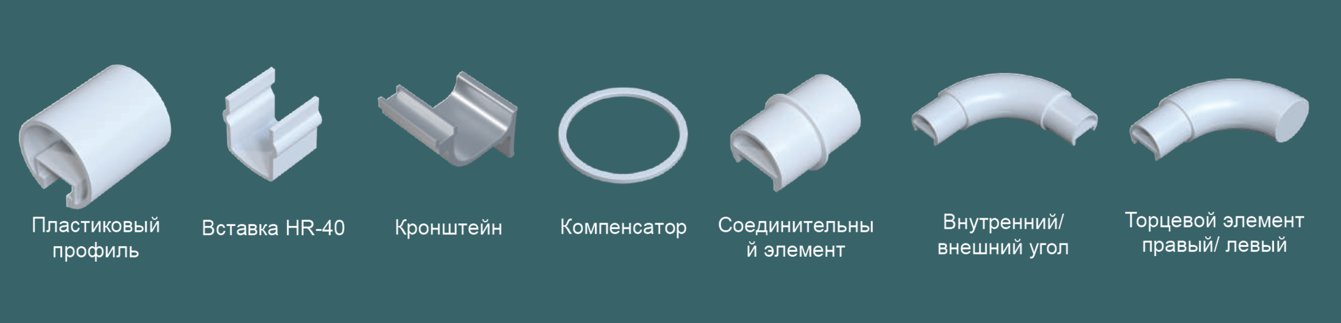 КОМПЛЕКТ ПОСТАВКИ R-40